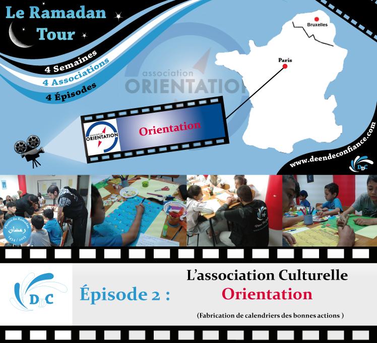 Ramadan Tour : Episode 2 - L'association Orientation - DDC