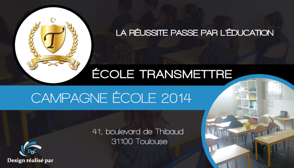 Ecole Transmettre: Cheminer vers l'excellence