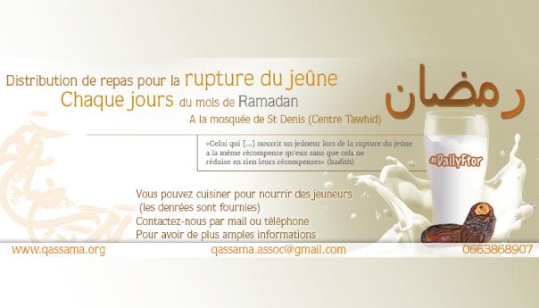 Une Ramadan « solidaire »: trois acteurs unis en faveur du jeûneur 1