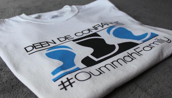 Deen De Confiance lance les Tee-shirt #OummahFamily