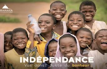 BarakaCity : la campagne « Indépendance ».