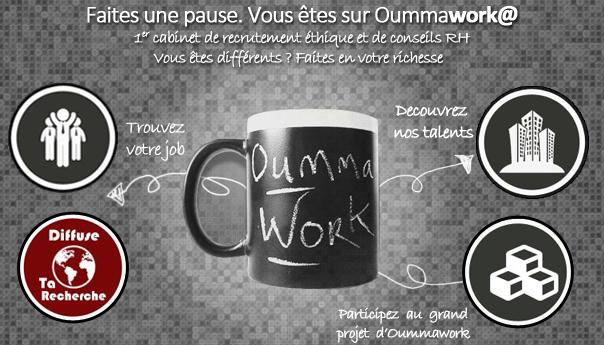 OUMMAWORK : la première plateforme éthique de recrutement 2.0 !