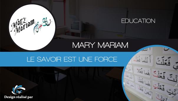 Association Mary Mariam: Fraternité et Savoir.