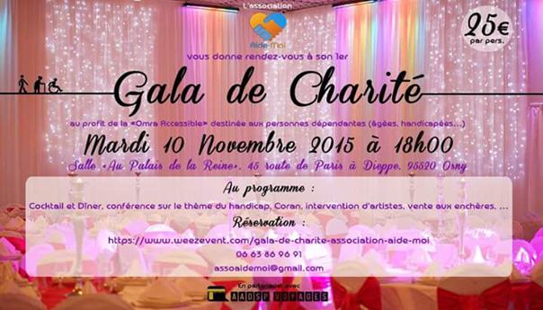 Aide-moi - Article actu Omra - Flyer Gala