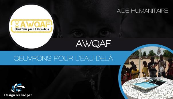 ASSOCIATION « AWQAF » : Œuvrons pour l'eau-delà !