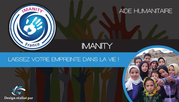 Association Imanity : unie en faveur des plus démunis.