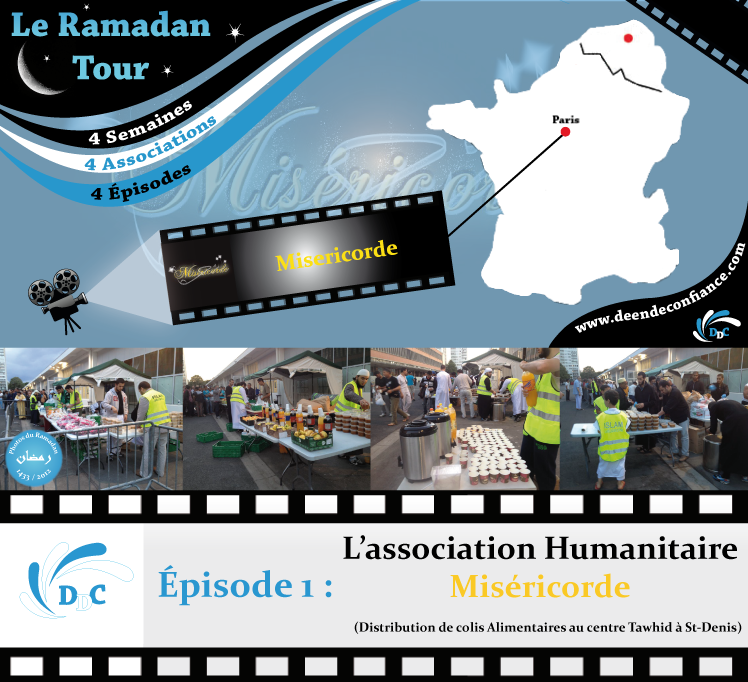 Ramadan Tour : Episode 1 - l'association Humanitaire Miséricorde - DDC