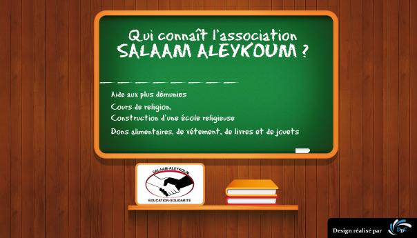 Association Salaam Aleykoum : transmission du savoir et soutien à la communauté