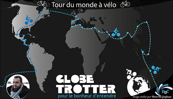 Association Globe Trotter : Un tour du monde pour le bonheur d'entendre