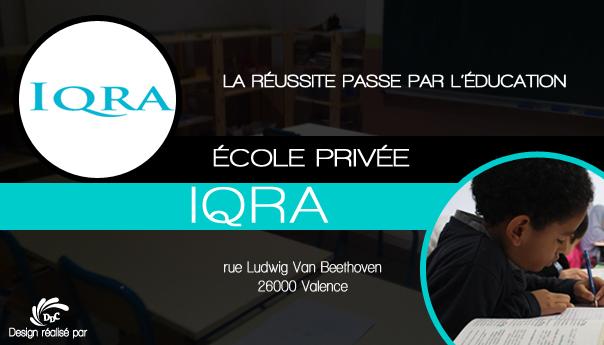 L'Ecole privée IQRA : l'étincelle de savoir au coeur de Valence.