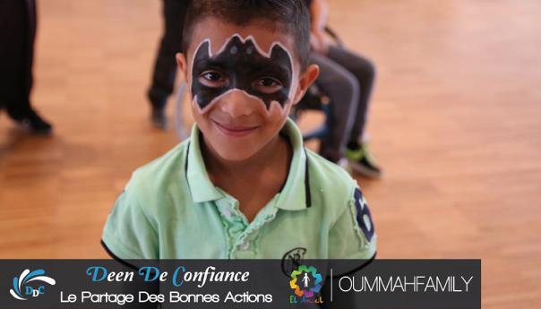 El Amel : une journée solidaire dédiée aux orphelins .