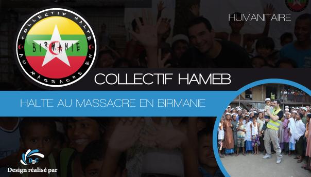 Association Collectif Hameb : Halte Au Massacre En Birmanie.