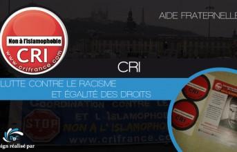 Association CRI : Luttons contre les discriminations !