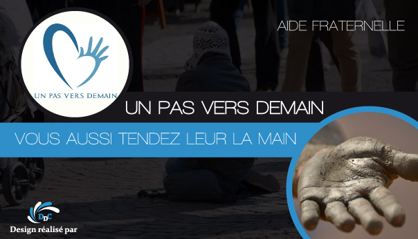 """Association """"Un pas vers demain"""" : renouer avec l'humain."""